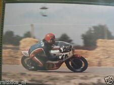 S1216-WERNER GIGER YAMAHA HILVARENBEEK 1977 ? NO 77 PHOTO COLOR MOTO GP