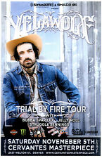 Yelawolf Trial By Fire Tour 2016 Denver, Colorado Concert Poster 11x17 Gig Flyer