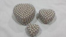 Indian handicraft white pearl jewelry box, Traditional Jewelry Box