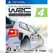 WRC 4 FIA World Rally Championship PS Vita SONY JAPANESE NEW JAPANZON