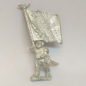 Cadian Standard Bearer Banner Metal Imperial Guard Astra Militarum Warhammer 40k