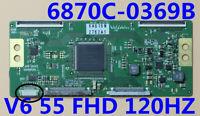 T-con Board 6870C-0369B V6 55 FHD 120HZ For 55'' TV 55LV5500-UA 6871L-2430H