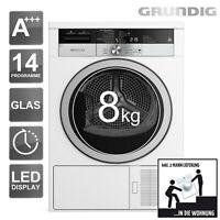 GRUNDIG Wärmepumpentrockner A+++  GTA 38263 G 8kg Wäschetrockner Trockner _2ML