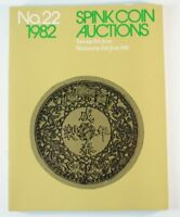 Spink Coin Auctions NO 22 Jahr 1982 Münzen & Medaillen Auktionkatalog RAR B6133