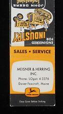 New listing 1950s Meisner & Herring John Deere Industrial Tractors Crawler Dover-Foxcroft Me