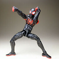 "2019 6"" Spider-Man: Into the Spider-Verse Miles Morales Spiderman Figure Toy HOT"
