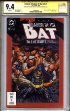 BATMAN SHADOW OF THE BAT #1 CGC 9.4 SS ALAN GRANT & BRIAN STELFREEZE