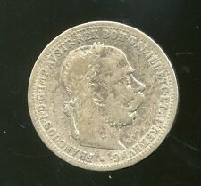 AUSTRIA-HUNGARY 1894 1 KRONE
