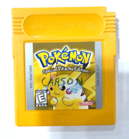 ***Pokemon Yellow Version AUTHENTIC w/ New Save Battery! NINTENDO GAME BOY***