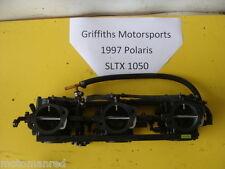 97 98 99 POLARIS SLTX 1050 JET SKI MIKUNI CARBS CARB RACK SET CARBURETORS NICE