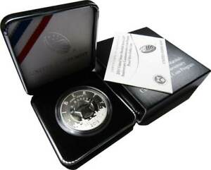 U.S. Marshals Service Commemorative 2015 P 90% Silver Dollar Proof $1 Coin OGP