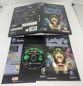 Nintendo GameCube Game Luigi's Mansion - Complete - Good Condition - PAL