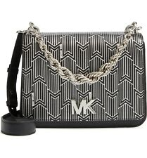 Michael Michael Kors Matt Chain Leather Shoulder Bag MSRP $358 # K 5 NEW