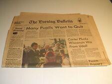 The Evening Bulletin of Philadelphia April 7, 1976 Hughes Dies of Kidney Failure