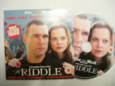 THE RIDDLE [2007] DVD - Vinnie Jones, Derek Jacobi, Julie Cox and Jason Flemyng
