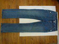 R&R Rock & Republic Jeans Denim Size 30 35 Fits like 27 35 Back Flap Pockets