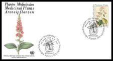 Nations Unies (Plantes Médicinales) 1990 FDC - 4