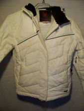Spyder Insulated Hooded Snowboard Ski Jacket, Womens 8 Medium