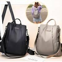 Women's Ladies Backpack Anti-Theft Rucksack School Travel Shoulder Bag Satchel
