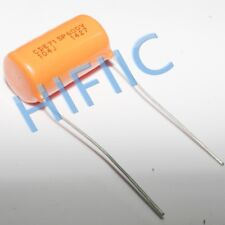 2PCS Sprague Orange Drop capacitor 715P 104J 0.1uF 600V