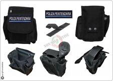 Borsetto Tasca Multiuso Cinturone Cordura MHF Nero Blak Polizia Penitenziaria