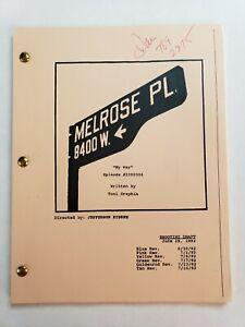 "MELROSE PLACE / Toni Graphia 1992 TV Script, SEASON 1 EPISODE 7 ""My Way"""