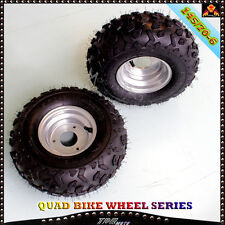 "2x 145/70- 6"" Inch Wheel Tyre Rim 50/70/90/110/125cc Quad Bike ATV  Buggy Mower"