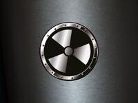 1 x Aufkleber Warnschild 013 Radioaktiv Radioactive Biohazard Sticker Shocker