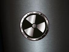 1 x adhesivo cárnica 013 radiactivo Radioactive Biohazard sticker Shocker