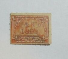 "Revenue PROPRIETARY Battleship Sc#RB20    "" C.  &  Co""   1898  see pic"