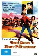 THE GUNS OF FORT PETTICOAT ( AUDIE MURPHY ) REGION 4 NEW AND SEALED