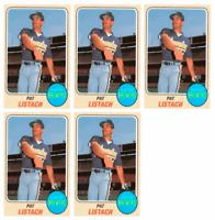 (5) 1993 Sports Cards #10 Pat Listach Baseball Card Lot Milwaukee Brewers