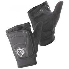 Nxe Free Flow Fingerless Paintball Gloves - Small - Black - Free Shipping
