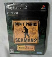 PS2 PlayStation 2 Seaman 2 Japanese Import Version Video Game Rare NEW SEALED