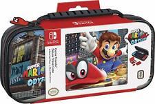 Nintendo Switch Game Traveler Deluxe Travel Case - Super Mario Odyssey New (1)