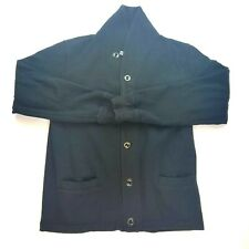 Gap Shawl Collar Cardigan Black Longsleeve Button Up Mens Size Small