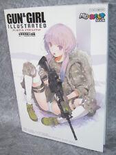 GUN & GIRL Illustrated U.S. Infantry Weapons Art Material Book 56
