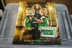 WWE BECKY LYNCH UNSIGNED 11X14 PHOTO WOMENS CHAMPION MONEY IN THE BANK