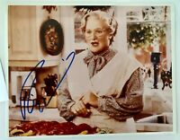 Robin Williams/  Mrs. Doubtfire Signed 10 x 8 Photo Hand Signed  w/COA
