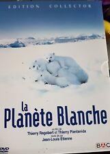 DVD du documentaire LA PLANÈTE BLANCHE : Édition Collector 2 DVD