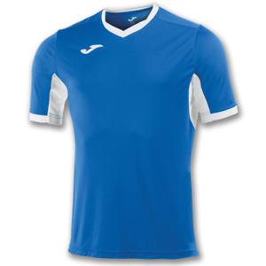 Joma SHORT SLEEVE Soccer  SHIRT CHAMPION IV ROYAL BLUE-WHITE - Size YL