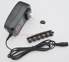 AC/DC regulate power adapter 3V/4.5V/5V/6V/7.5V/9V/12V supply 100MA/0.1A US plug