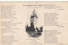 CHAROLAIS CHAROLAISE CHAROLLE la chanson du canton 16 avril 1924 joanny FURTIN