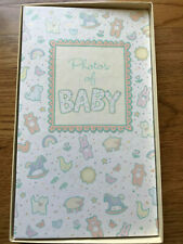 Vintage Hallmark Baby Photo Album Unused