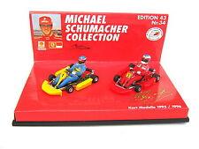 Kart Set Schumacher modèles 1995/1996 Ed. 43 No. 34 PMA 510954396 1/43 neuf dans sa boîte