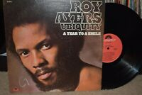 Roy Ayers Ubiquity lp A Tear To A Smile Polydor PD-6046 1975 EX/VG++