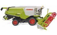 #038914 - Wiking Claas Lexion 760 Mähdrescher mit V1050 Getreidevorsatz - 1:87