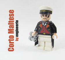 LEGO Custom - Corto Maltese - Minifigure army Italian comics naval officer