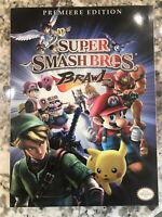 Super Smash Bros. Brawl Strategy Guide Book Brand New Nintendo Wii