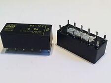 NAIS S2-12V 4 POLE RELAY 4A 250V CONTACTS (x1)           ad1k106